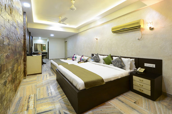 Family Ac Room, HOTEL ASHISH PALACE-AGRA - Budget Hotels in Agra