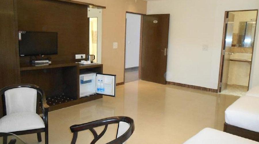 Deluxe Room,                                     HOTEL KARAN VILAS AGRA - Budget Hotels in Agra