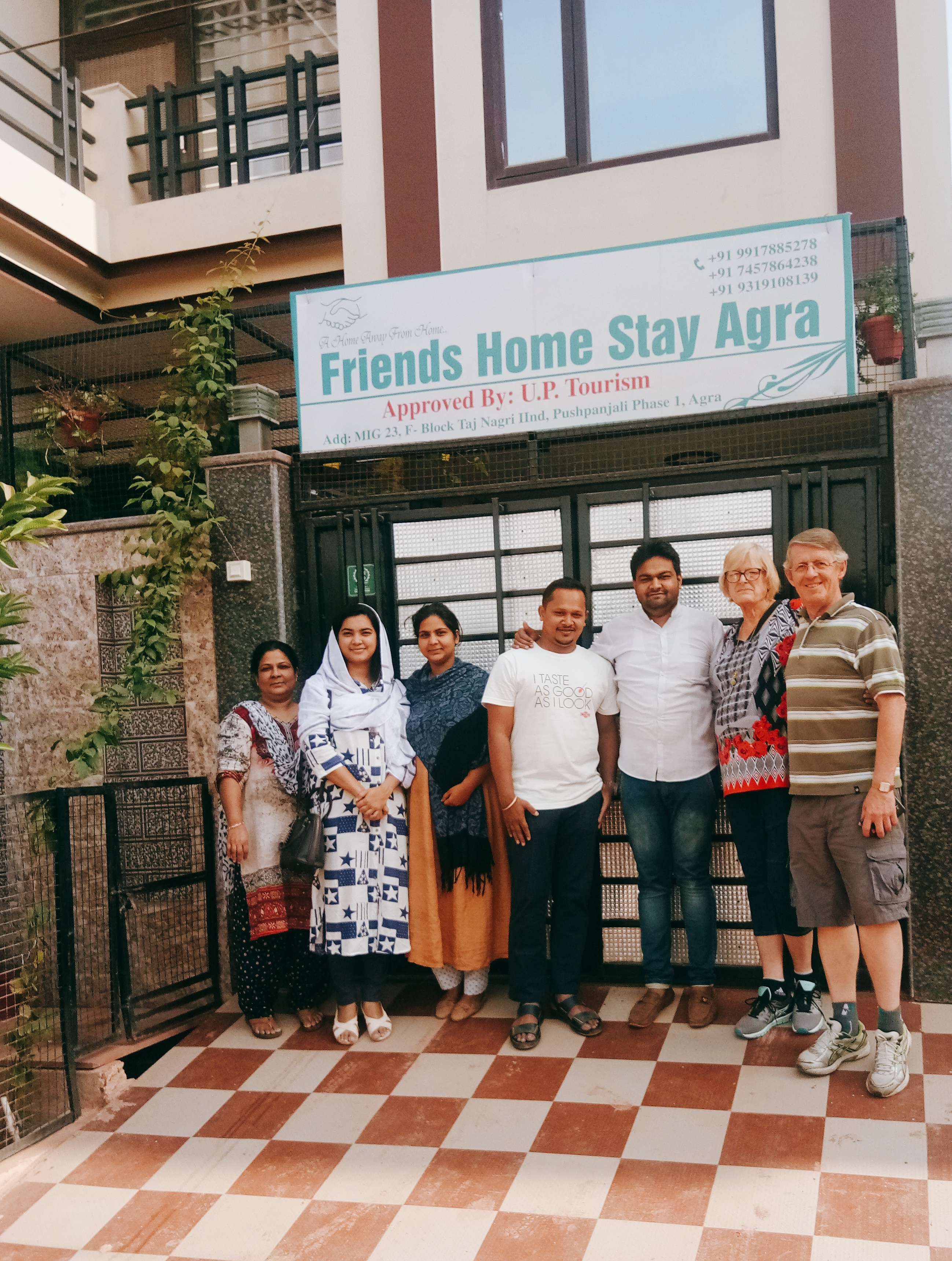 Non Ac Twin Bed Room with fan, FRIENDS HOME STAY AGRA - Budget Hotels in Agra