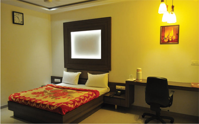 Standard AC Room, HOTEL KAMRAN PALACE - Budget Hotels in Ahmedabad