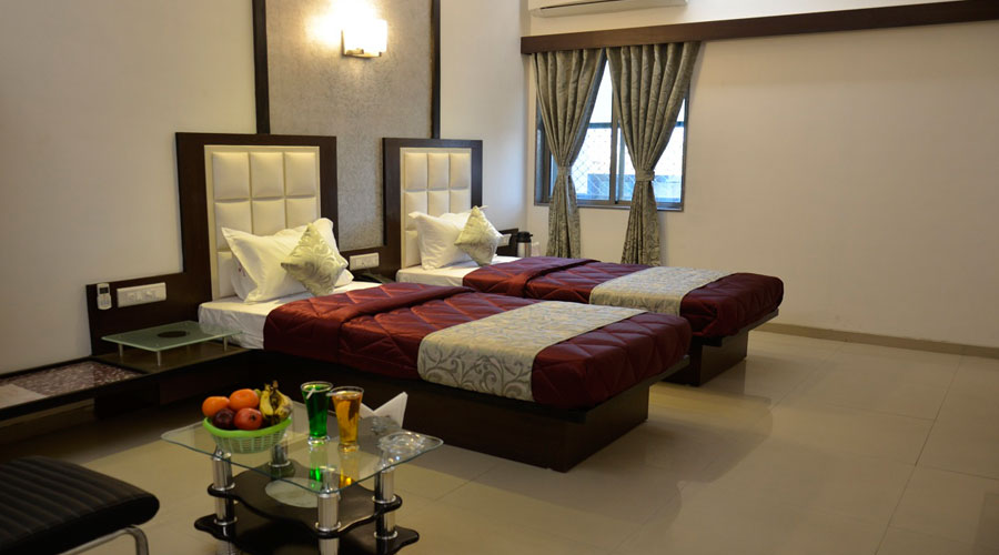 Deluxe Room,                                     HOTEL ROYAL PALACE AHMEDABAD - Budget Hotels in Ahmedabad