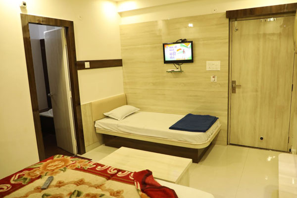 Three Bed Deluxe Non AC Room ,                                     HOTEL SAHIL AJMER - Budget Hotels in Ajmer