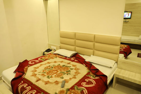 Double Bed Deluxe AC Room,                                     HOTEL SAHIL AJMER - Budget Hotels in Ajmer