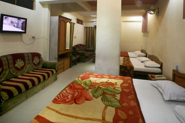 Deluxe AC Four Bed Room 4 Days Package,                                     HOTEL SAHIL AJMER - Budget Hotels in Ajmer