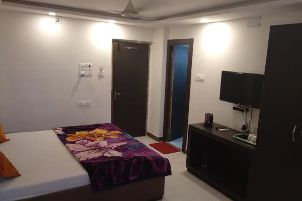 Non AC Double Bed-Budget Room,                                     Hotel Rajkamal - Budget Hotels in Deoghar