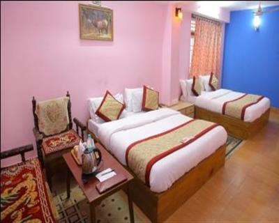 Family 4 beaded Room, Hotel Sagorika - Gangtok - Budget Hotels in Gangtok