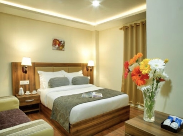 Deluxe Room, AMBA REGENCY GANGTOK - Budget Hotels in Gangtok