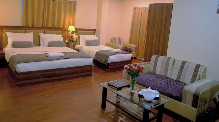 Family Suite Room, AMBA REGENCY GANGTOK - Budget Hotels in Gangtok