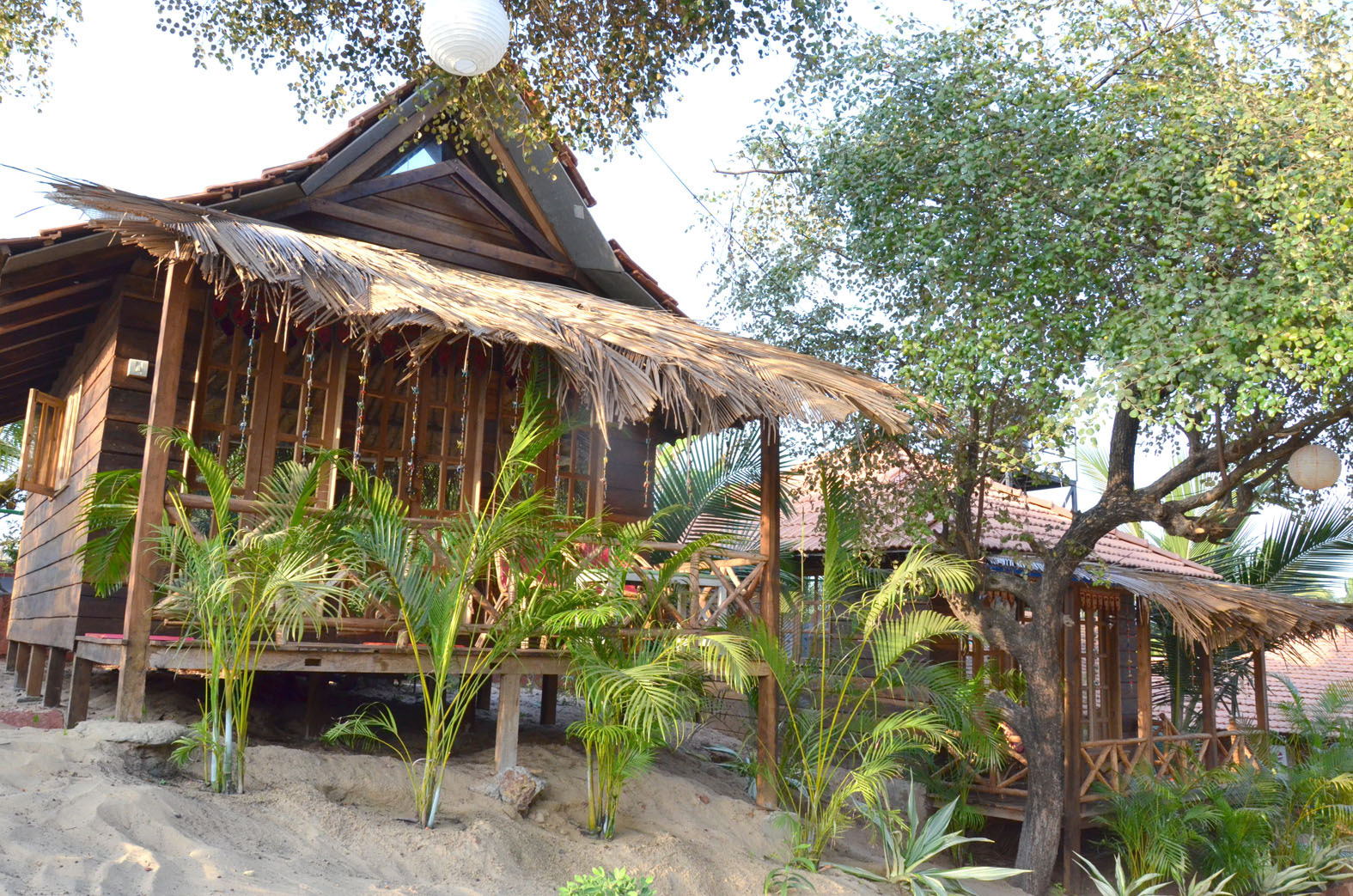 Awe Inspiring Information Of Little India Beach Cottage Goa Tropical Wooden Largest Home Design Picture Inspirations Pitcheantrous