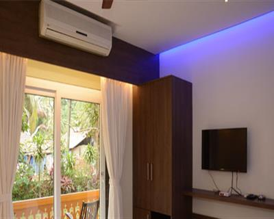 Superior AC Room With Balcony, PALOLEM GUEST HOUSE - Budget Hotels in Goa