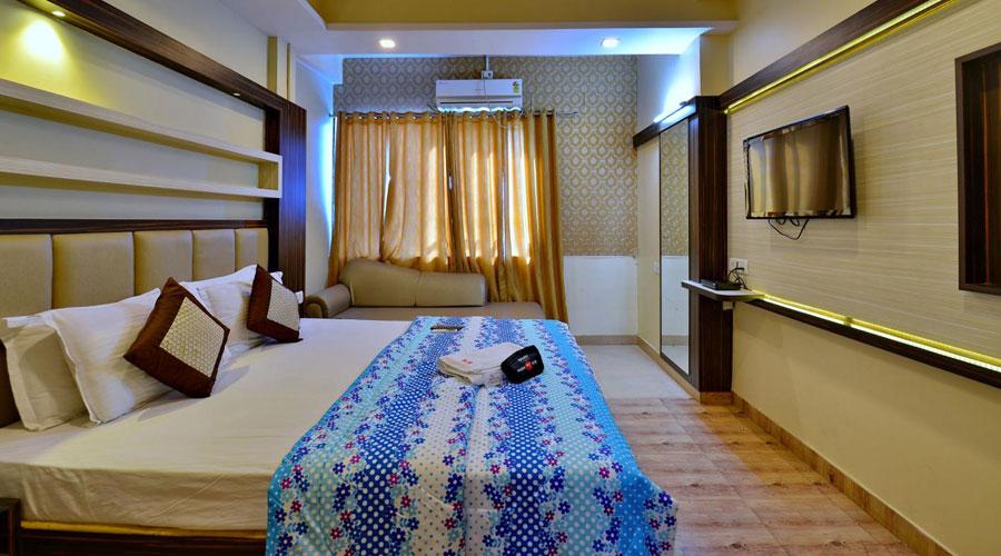 Deluxe AC Room, HOTEL SWAYAM JABALPUR - Budget Hotels in Jabalpur