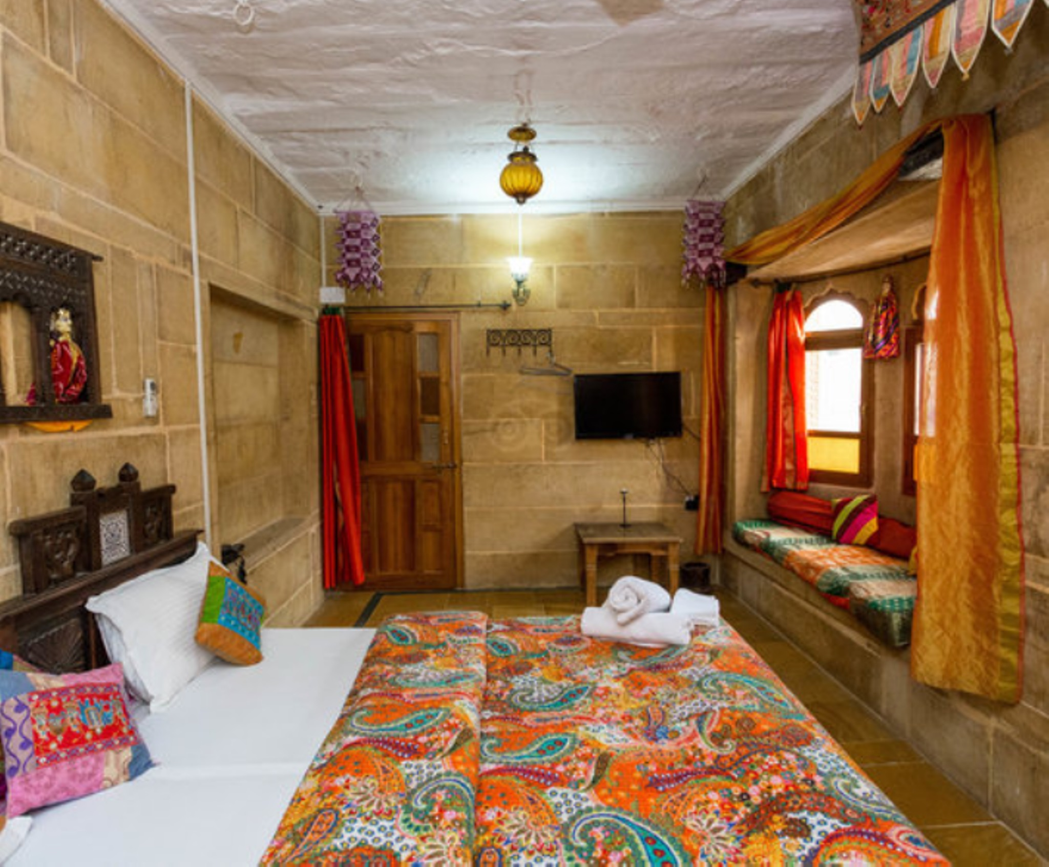 Superior Room  with Fort View,                                     Shahi Palace Hotel Jaisalmer - Budget Hotels in Jaisalmer