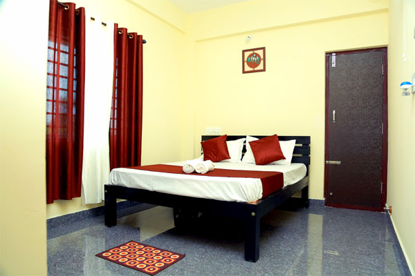 Deluxe Double Room with Balcony,                                     Holidayincoorg Silver Nest - Budget Hotels in Madikeri