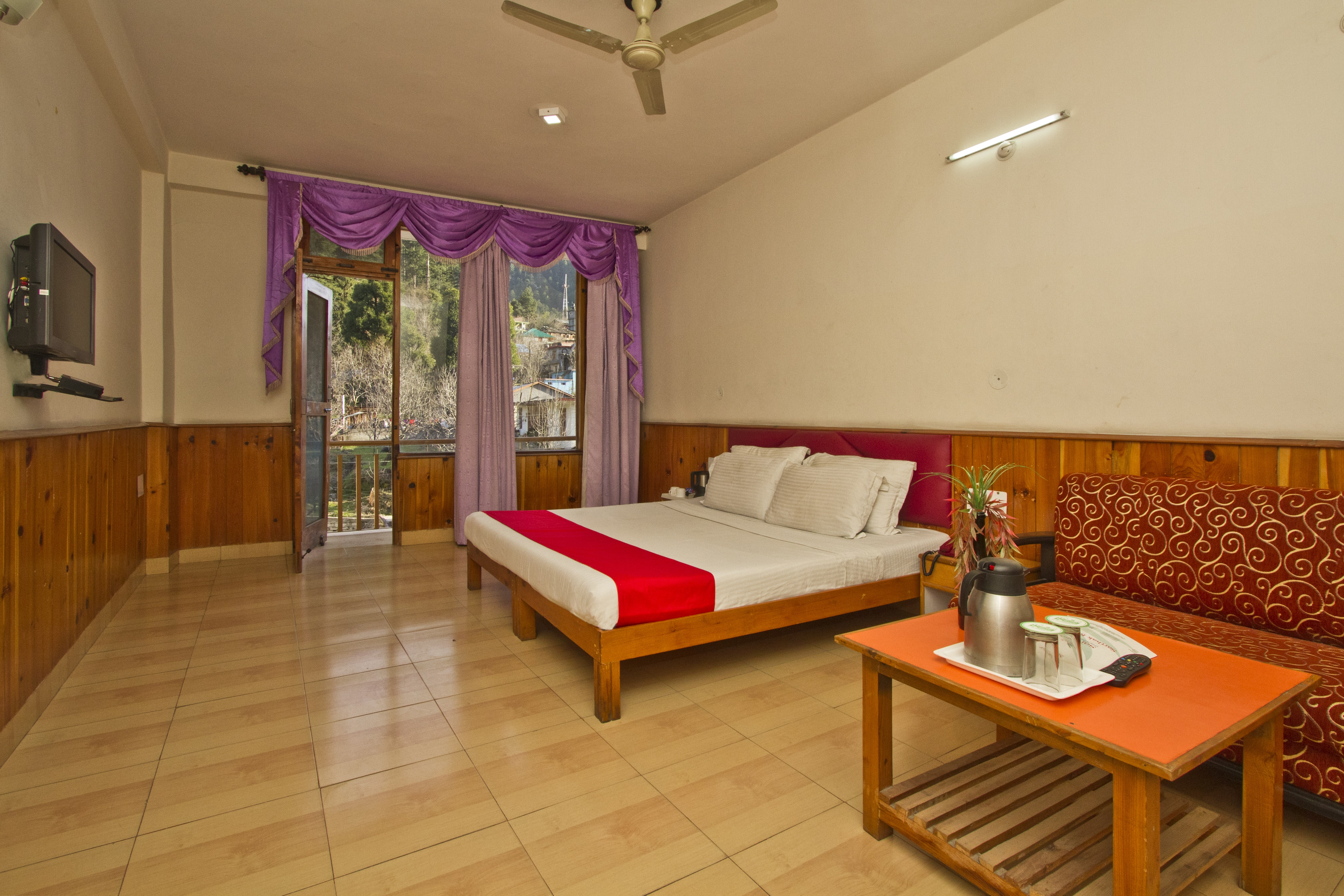 Standard Non View Room, Sarthak Resorts - Budget Hotels in Manali