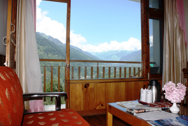 Super Deluxe Valley view CP), SARTHAK RESORTS KHAKHNAL( MANALI) - Budget Hotels in Manali