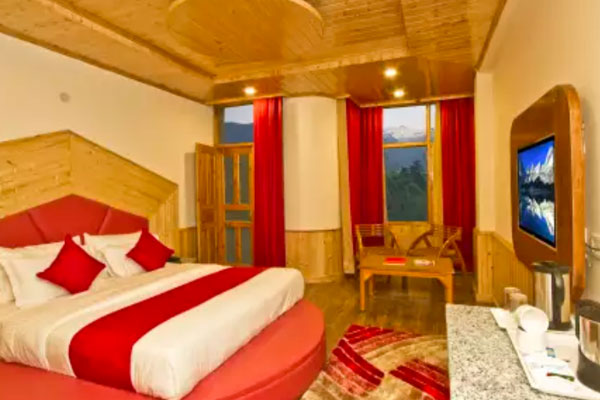 Premium Room Hill View with Balcony MAP, Sarthak Regency - Budget Hotels in Manali