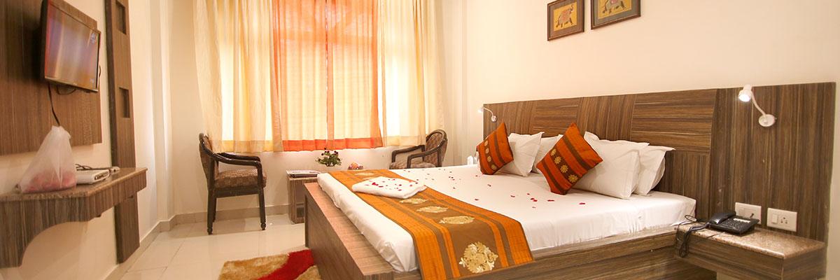 Super Deluxe Room CP, Hotel Sheetal Regency Mathura - Budget Hotels in Mathura