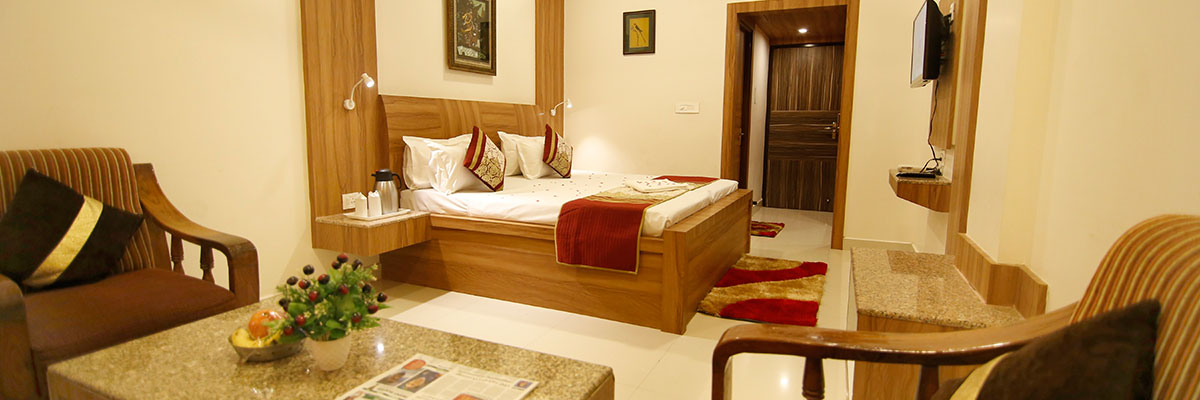 Luxury Room CP, Hotel Sheetal Regency Mathura - Budget Hotels in Mathura