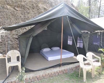Deluxe Tent, NESTLING MEADOWS, NAHAN - Budget Hotels in Nahan