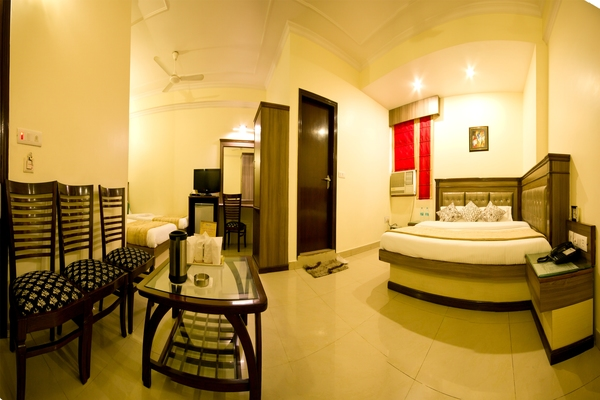 Family AC Room, Hotel Grand Park Inn - Budget Hotels in New Delhi