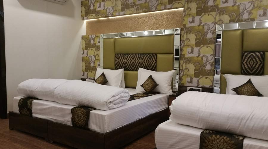 Triple AC Room, HOTEL SUNSTAR HERITAGE - Budget Hotels in New Delhi