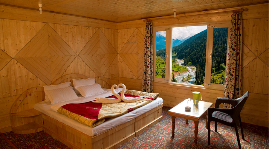 Super Deluxe Room, TULIP COTTAGE PAHALGAM - Budget Hotels in Pahalgam
