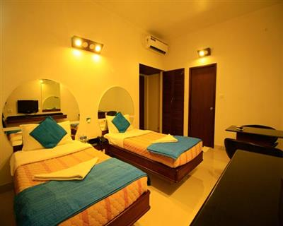 Superior Twin bed Room ( separate two single beds), Lotus A Pondy Hotel - Budget Hotels in Puducherry