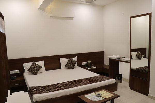 AC Room, HOTEL BABA  RAJKOT - Budget Hotels in Rajkot