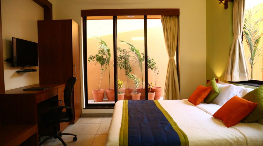Deluxe Room on CP,                                     THE ROYAL CASTLE RESORT - Budget Hotels in Rajkot