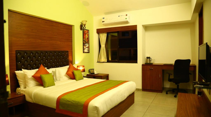 Deluxe twin Room on CP,                                     THE ROYAL CASTLE RESORT - Budget Hotels in Rajkot