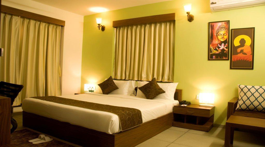 Executive Room on CP,                                     THE ROYAL CASTLE RESORT - Budget Hotels in Rajkot