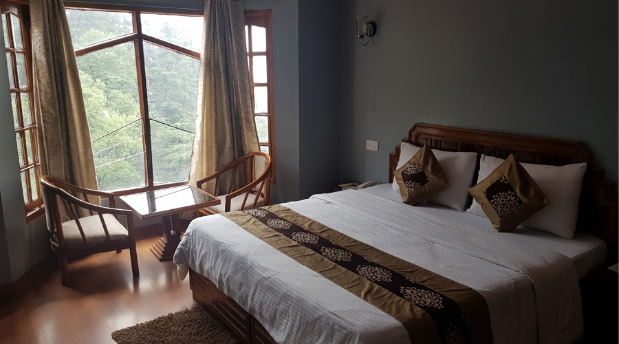 Deluxe Room CP, HOTEL SILVERINE - Budget Hotels in Shimla