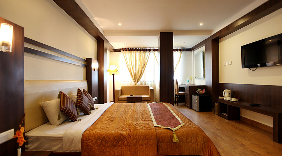 Deluxe Room New Year PKG, BRIDGE VIEW REGENCY - Budget Hotels in Shimla