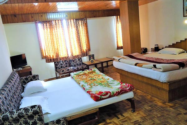 Family Room, HOTEL AMBER SHIMLA - Budget Hotels in Shimla