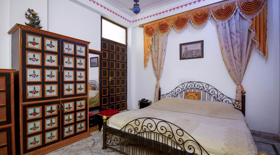 Deluxe Double Room, HOTEL BABA PALACE - Budget Hotels in Udaipur